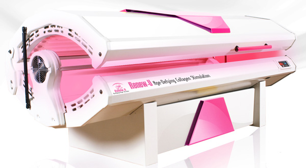 how to convert a tanning bed to red light therapy